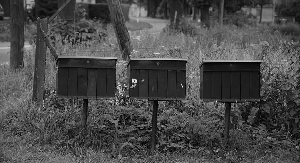 Zdjęcie skrzynek pocztowych