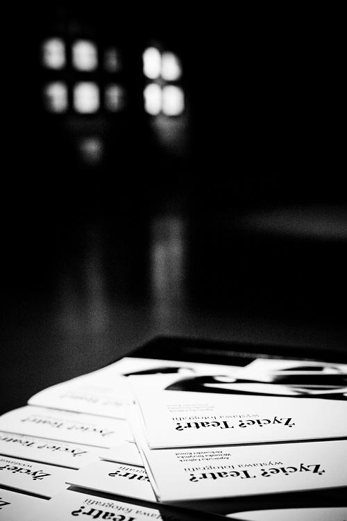 """wystawa fotograficzna """"Życie? Teatr?"""" warsztaty 04"""
