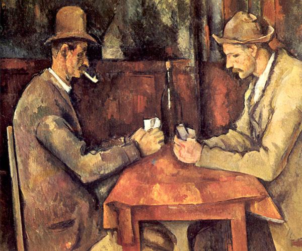 """Paul Cézanne - """"Gracze wkarty"""""""