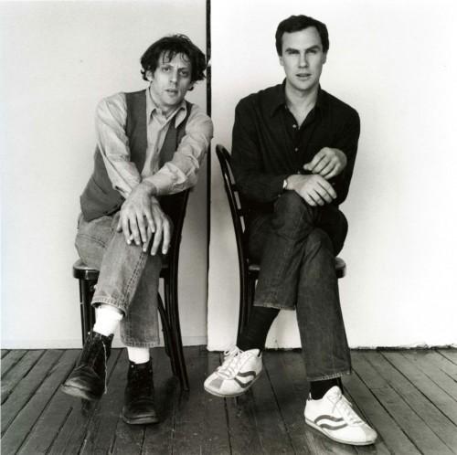 Robert Mapplethorpe - Philip Glass and Robert Wilson, ©1976